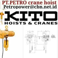 CRANE HOIST KITO PT PETRO CRANE HOIST