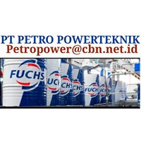 Jual HIGH PERFORMANCE FUCHS LUBRICANT PT PETROPOWER OLI MESIN INDUSTRI