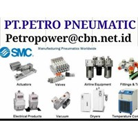 PT PETRO SMC PNEUMATIC FITTING SMC VALVE ACTUATOR PT PETRO PNEUMATIC