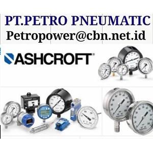 ASHCROFT PRESSURE GAUGE SWITCH PT PETRO CONTROLS TEMPERATURE GAUGE