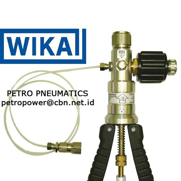 WIKA Test pump pneumatic Model CPP30