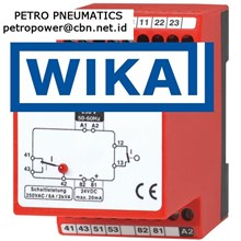 WIKA Control relay Model 905 PETRO PNEUMATICS