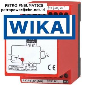 Dari WIKA Control relay Model 905 PETRO PNEUMATICS 0