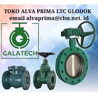 PT ALVA PRIMA GLODOG  GALATECH Globe Valve
