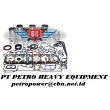 Detroit Diesel 6V-53 From ESN 6D 17961 with Deep Bowl Piston In Frame Kit Repairing Kit alat alat mesin PT Petro Heavy Equipment