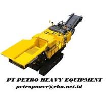 KOMATSU Crushers - BR380JG-1E0 Alat alat mesin PT PETRO HEAVY EQUIPMENT