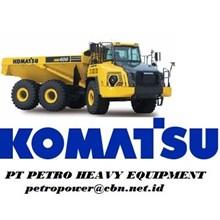Komatsu Dump Trucks-ADT - HM400-3M0  alat alat mesin PT Petro Heavy Equipment