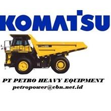 KOMATSU Dump Trucks Rigid  HD325-7 alat alat mesin PT Petro Heavy Equipment
