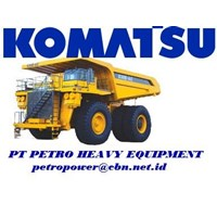 Jual Komatsu Dump Trucks Rigid 830E-1AC alat alat mesin PT Petro Heavy Equipment email : petropower(at)cbn(dot)net(dot)id