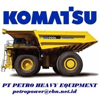 Jual Komatsu Dump Trucks Rigid 960E-2K alat alat mesin PT Petro Heavy Equipment email : petropower(at)cbn(dot)net(dot)id