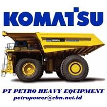 Komatsu Dump Trucks Rigid 960E-2K alat alat mesin PT Petro Heavy Equipment email : petropower(at)cbn(dot)net(dot)id