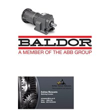 Baldor In-Line Helical Reducers alat alat mesin PT Petro Heavy Equipment
