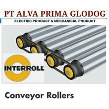 INTERROLL ROLLER CONVEYOR PT ALVA GLODOK  INTERROLL ROLLER