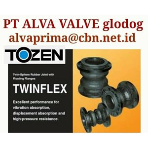 TOZEN RUBER EXPANSION JOINT STOCKIST :  PT ALVA GLODOG