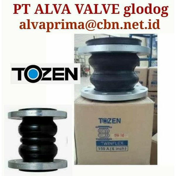 TOZEN RUBER EXPANSION JOINT