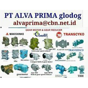 MAKISHINKO GEARMOTOR REDUCER GEARBOX PT ALVA GLODOK