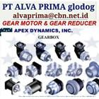 APEX DYNAMIC GEARMOTOR REDUCER GEARBOX PT ALVA GLODOK 1