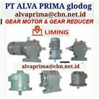 LIMING GEARMOTOR REDUCER GEARBOX   1
