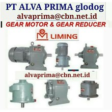 LIMING GEARMOTOR REDUCER GEARBOX PT ALVA GLODOK LIMING
