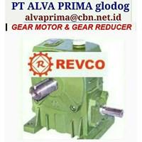 REVCO GEARMOTOR REDUCER GEARBOX