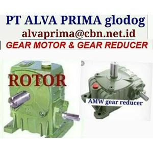 ROTOR AMW GEARMOTOR REDUCER GEARBOX PT ALVA GLODOK TYPE WPA WPO WPX