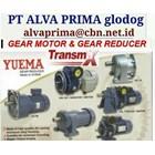 TRANSMAX YUEMA GEARMOTOR REDUCER GEARBOX PT ALVA GLODOK  1