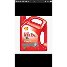 Oli dan Pelumas sheell helix hx3 20w-50
