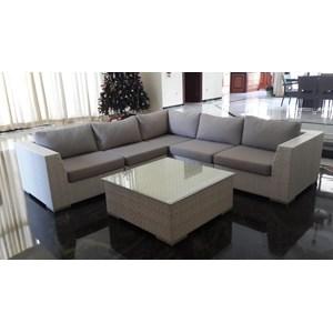 sofa rotan sintetis eropa pasific set 5