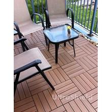 Lantai Kayu Parket Quick Deck Tile