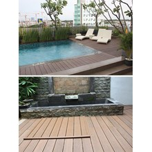 Wpc Wood Decking Areas