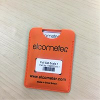Elcometer Foils Scale Calibration