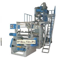 Polypropylene (Pp) Film Blowing Machine