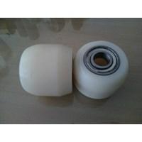 Roda Hand Pallet Nylon belakang 80x70cm  1