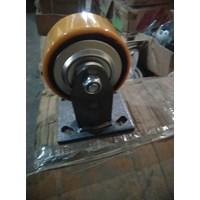 Roda Polyurethane iron Core Pu 4inci Rigid 1