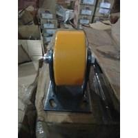 Jual Roda Polyurethane iron Core Pu 4inci Rigid 2