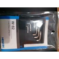 Kunci Inggris Torx Wrench SET HOZAn W-82 1
