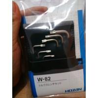 Jual Kunci Inggris Torx Wrench SET HOZAn W-82 2