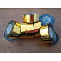 Jual Pita Coding Ribbon Tape 3x120cm Gold  2