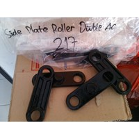 Jual Spare Part Hand Pallet Stotlift  Side Plate Roller Doble AC