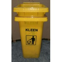 Dustbin Yellow No Pedal