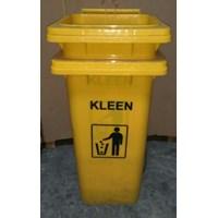 Dustbin Yellow No Pedal (Tempat sampah) 1