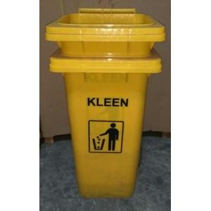 Dustbin Yellow No Pedal (Tempat sampah)
