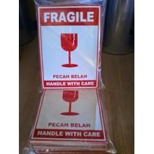 Stiker Fragile / Packaging / Plastik