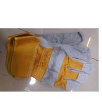 Sarung Tangan Safety Kombinasi kuning