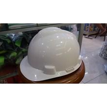 Helm safety proyek warna putih