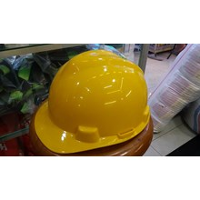 Helm safety proyek warna kuning