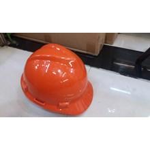 Helm safety proyek warna Orange