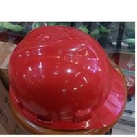 Helm safety proyek warna merah