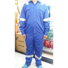 Wearpack Baju Celana Warna Biru bca
