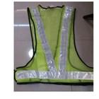 pakaian safety - Rompi jala V hijau 1